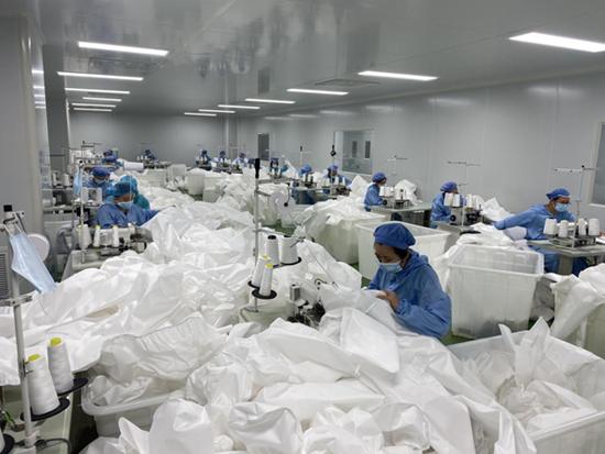 """重庆:税惠助力防疫物资企业""""逆流而上""""498862"""